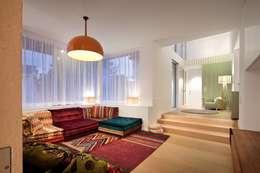 Projekty,  Salon zaprojektowane przez illichmann-architecture