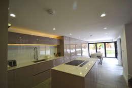 minimalistische Keuken door Nic  Antony Architects Ltd