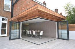 moderne Huizen door Nic  Antony Architects Ltd