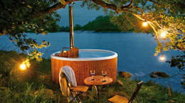 scandinavisch Zwembad door Skargards Hot Tubs Deutschland