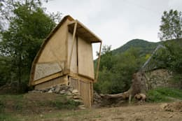 modern Garage/shed by Mill & Jones