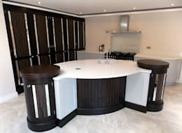 eclectic Kitchen by Designer Kitchen by Morgan