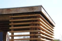 Balconies, verandas & terraces  by halma-architecten