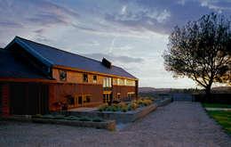 landelijke Huizen door Nicolas Tye Architects