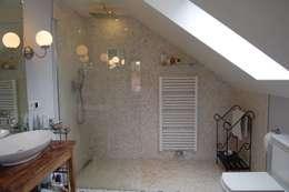 landelijke Badkamer door Borkenhagen Interior&Design