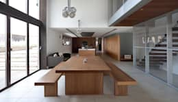 modern Dining room by Nicolas Tye Architects