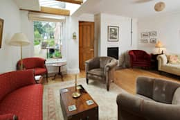 moderne Woonkamer door Haydn Bennett Chartered Architect