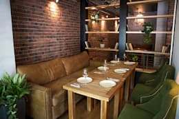 industrial Dining room by NIdesign