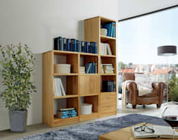 modern Study/office by Allnatura
