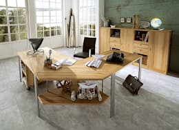 modern Study/office by Allnatura