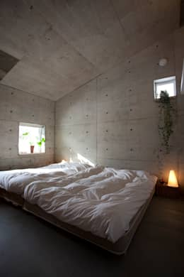 YASUO TERUI Architects Inc.의  침실