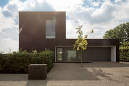 Maison Lebbeke: Maisons de style de style Moderne par Pascal François Architects bvba