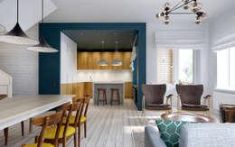 Ruang Keluarga by INT2architecture