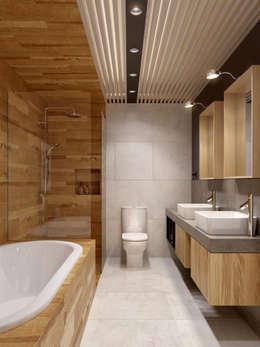 ห้องน้ำ by INT2architecture