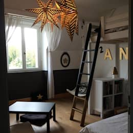 modern Nursery/kid's room by At Ome