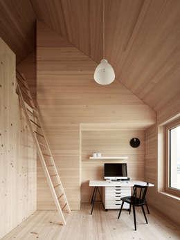 Projekty,  Domowe biuro i gabinet zaprojektowane przez Innauer-Matt Architekten ZT GmbH