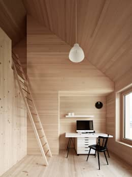 Ruang Kerja by Innauer-Matt Architekten ZT GmbH