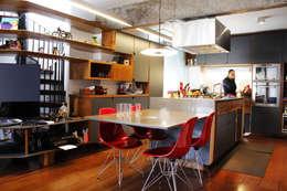 Apartamento Klabin: Cozinhas modernas por ODVO Arquitetura e Urbanismo