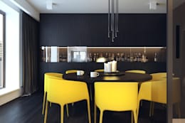 minimalistic Dining room by KUOO ARCHITECTS