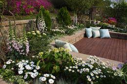 Jardin de style de stile Rural par Garden Studio Allium