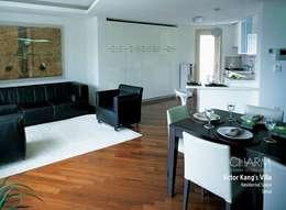 탤런트 강석우 씨 집: 참공간 디자인 연구소의  거실