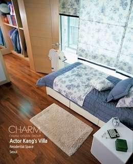 탤런트 강석우 씨 집: 참공간 디자인 연구소의  침실