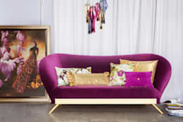 Projekty,  Salon zaprojektowane przez Green Apple Home Style