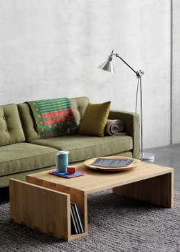 scandinavian Living room تنفيذ bolighus design