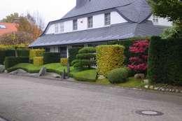 Japangarten mit Koiteich in Bremerhaven: moderner Garten von japan-garten-kultur
