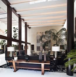 Casa H: Salas de estilo minimalista por Cm2 Management