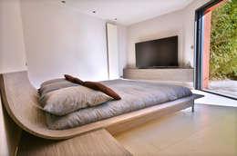 Aménagement Suite parentale: Chambre de style de style Minimaliste par AGENCEMENT3D