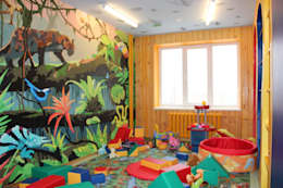 eclectic Nursery/kid's room by Anna Vladimirova