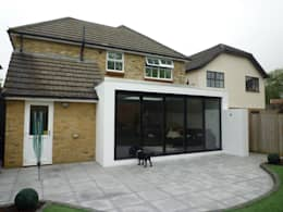 Rear Elevation - Before: modern Houses by Arc 3 Architects & Chartered Surveyors