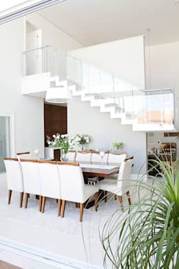 Sala de Jantar: Salas de jantar modernas por HAUS