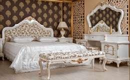 Asortie Mobilya Dekorasyon Aş.  – Sakura Klasik Yatak Odası Takımı: klasik tarz tarz Yatak Odası