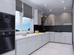 Cozinhas minimalistas por Design Projects