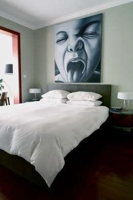 eclectische Slaapkamer door Hot Dog Decor Inneneinrichtung & Beratung