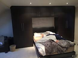 modern Bedroom by Smiths fitted wardrobes Ltd