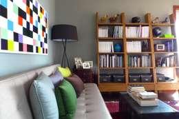 eclectische Studeerkamer/kantoor door Hot Dog Decor Inneneinrichtung & Beratung