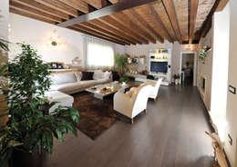 klassische Wohnzimmer von Mardegan Legno