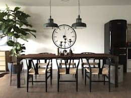 eclectic Dining room by Hot Dog Decor Inneneinrichtung & Beratung