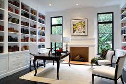 Projekty,  Domowe biuro i gabinet zaprojektowane przez Hot Dog Decor Inneneinrichtung & Beratung