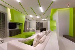 Salas de estilo minimalista por ARTRADAR ARCHITECTS