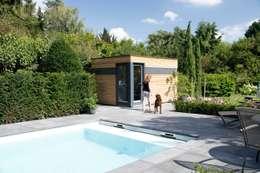 Jardines de estilo moderno por Gartenhauptdarsteller