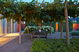 Jardins modernos por FLORERA , design and realisation gardens and other outdoor spaces.