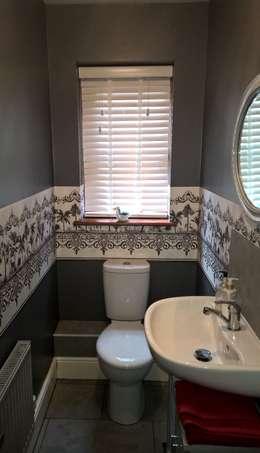 modern Bathroom by Grey Soft Furnishings