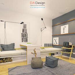 DA-Design: minimal tarz tarz Oturma Odası