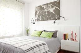 Dormitorio principal: Dormitorios de estilo escandinavo de itta estudio