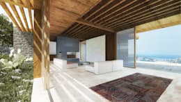 mediterranean Living room by Atelye 70 Planners & Architects