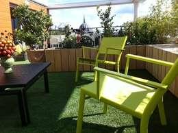 terrasse Nantes: Terrasse de style  par SO GREEN